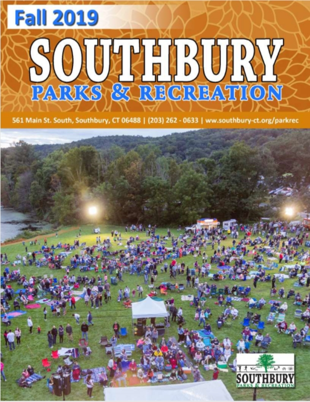 The Fall 2019 Brochure from Southbury Parks and Rec